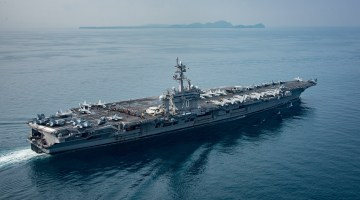 China Calls for Restraint on North Korea as USS Carl Vinson arrives