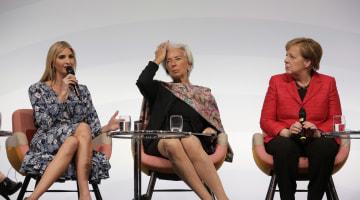 Ivanka Trump Grilled, Booed During Women20 Summit in Berlin