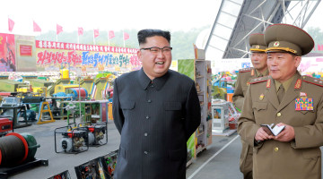 CIA, Other Spy Agencies Agree North Korea Can Fit Nuclear Weapon on Missile