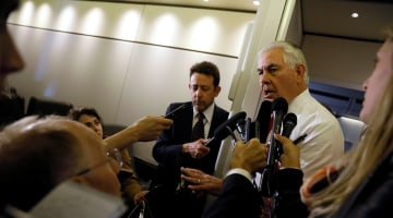 Trump's Intelligence Disclosure to Russia: No Apology, Tillerson Says