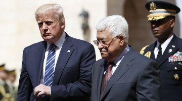 Trump Trip: President Meets With Palestinian President Abbas