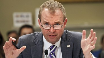 OMB Director Mulvaney Gets Earful From Lawmakers For 'Immoral' Trump Budget