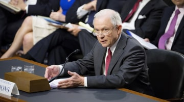 Jeff Sessions: 'Appalling and Detestable Lie' to Accuse Him of Colluding With Russians