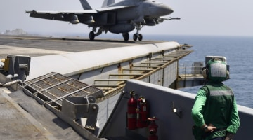 Another Close Call for U.S. Jet and Iranian Drone in Persian Gulf