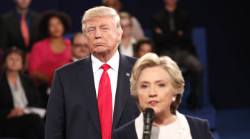 Hillary Clinton Says 'My Skin Crawled' During Debate With Trump