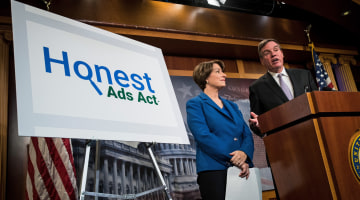 'Honest Ads Act' Demands Online Ad Disclosures From Tech Giants