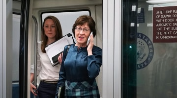 New ad encourages Collins to vote 'no' on tax bill