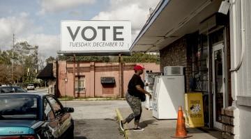 Doug Jones needs black voters to beat Roy Moore in Alabama. They aren't there yet.