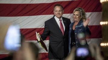 Mystery money floods Alabama in Senate race's final days