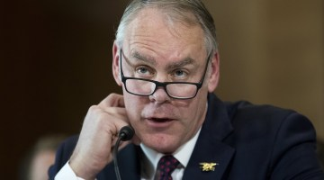 Interior Secretary Zinke's 'konnichiwa' remark criticized as 'juvenile' and 'outrageous'