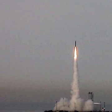 Image: Israel successfully tests newest missile defence system
