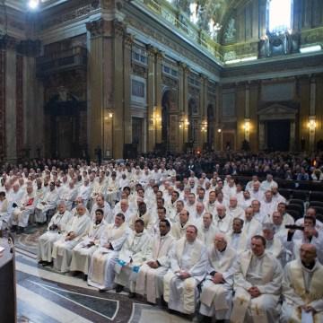 Image: ITALY-RELIGION-POPE-JESUITS