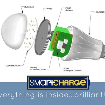 SmartCharge light bulb