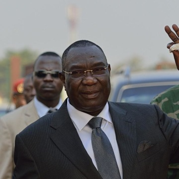 Image: Central African Republic president Michel Djotodia.