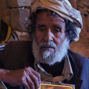 Image: Yemeni shepherd Ahmed Mohammed Al Shafe'ee