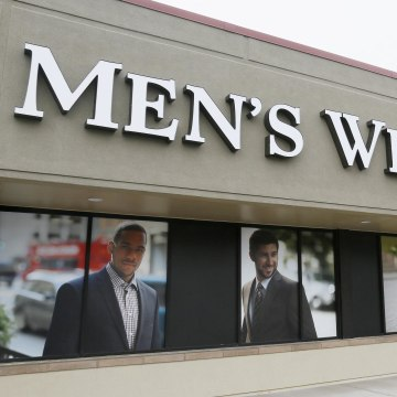 Apparel retailer Men's Wearhouse has mounted a hostile bid for rival Jos. A. Bank Clothiers Inc.