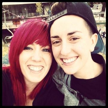 Image: Ashley Houghton, left, and Rachel Wayment