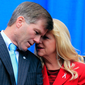 Image: Former VA Gov. McDonnell and his wife