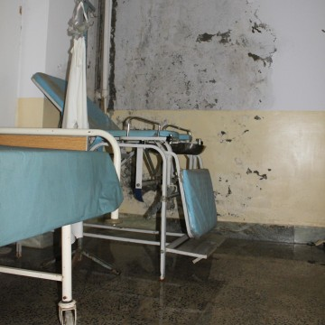 "Salang Hospital's ""Delivery Room""."