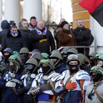 Image: Anti government protests in Ukraine