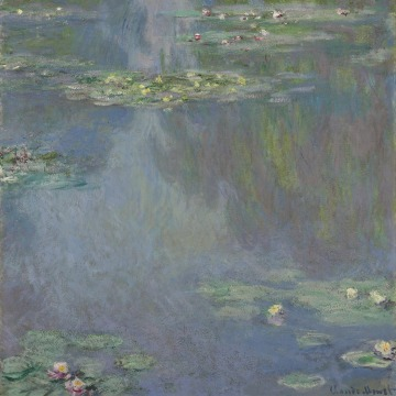 "Image: A work from Claude Monet's ""Nymphéas,"" or ""Water Lilies,"" series"