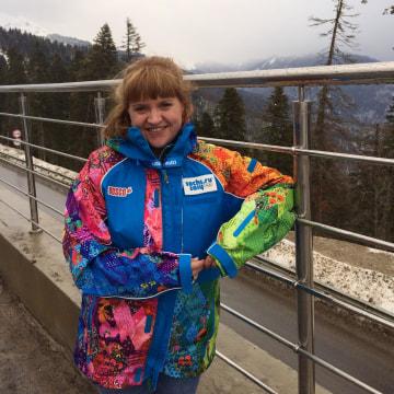 Tamara Smith in Sochi