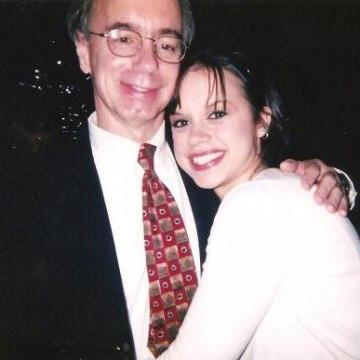 Image: Amanda Kalinsky and her father, Dr. Luke Baxley Sr.