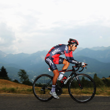 Image: Amael Moinard of France and BMC Racing Team rides during stage seventeen of the 2013 Tour de France