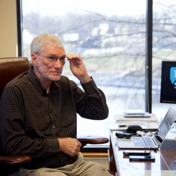 Image: Ken Ham, founder of the Creation Museum, views the debate as an opportunity to have an open discussion of creation vs evolution.
