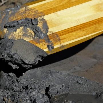Image: Dan River coal spill.