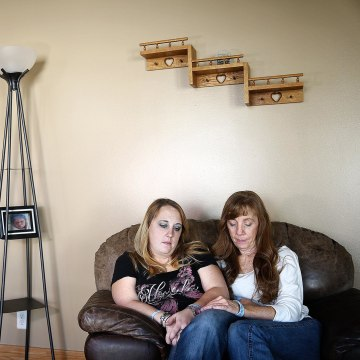 Image: Heather Surovik and her mother Terry Koester