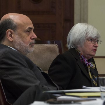 Janet Yellen has taken over the Federal Reserve from Ben Bernanke. Stock markets wonder if she will continue his monetary policies.