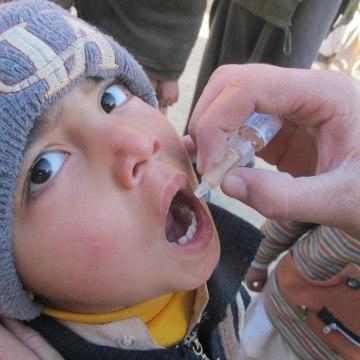 Image: polio case in kabul