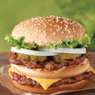 Burger King is looking to take a big bite out of McDonald's market share. The Big King Burger is bigger than a Big Mac.