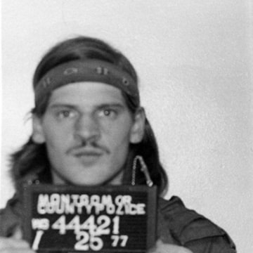 Image: Lloyd Lee Welch is pictured in this 1977 booking photo courtesy of the Montgomery County Police