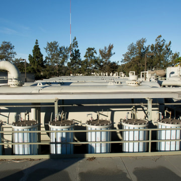 Image:The Charles Meyer Desalination Facility in Santa Barbara, Calif.