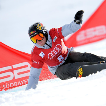Justin Reiter has endured financial hardship and patched together a variety of resources to reach Sochi.