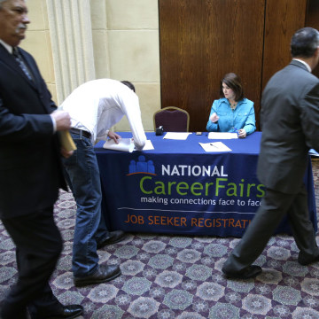 Jobless claims dipped last week in an encouraging sign for the economy.