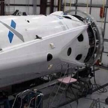 Image: SpaceX Falcon landing leg