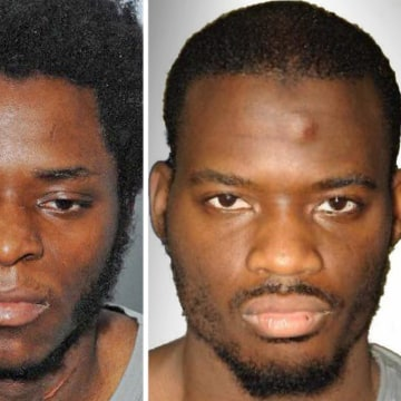 Image: Police photos show, from left, Michael Adebowale and Michael Adebolajo.