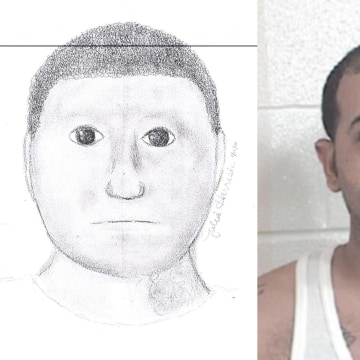 A sketch released in January 2014 of a suspect wanted in two robberies in Paris, Texas, went viral for its cartoonish features. Police apprehended Glenn Edwin Rundles, 32.
