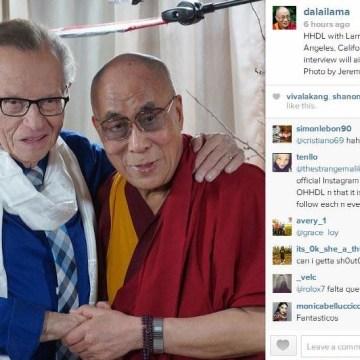 Dalai Lama Instagram