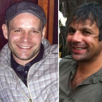 Image: From left: Victims John Chapman, Lukasz Slaboszewski and Kevin Lee.