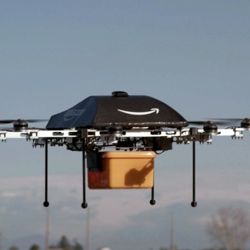 Image: Amazon's Prime Air unmanned aircraft project