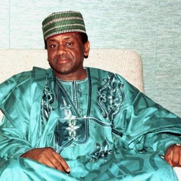 Image: Nigerian President Gen. Sani Abacha in 1997