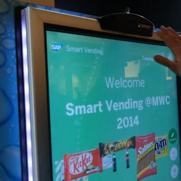 Image: Smart vending machine