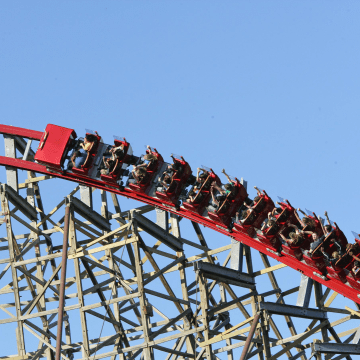 Image: Texas Giant roller coaster