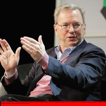 Image: Google Executive Chairman Eric Schmidt at SXSW Festival
