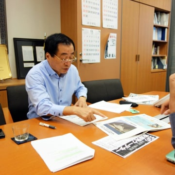 Image: Naoto Kan, Japan's prime minister during the Fukushima nuclear disaster