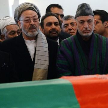 Image: AFGHANISTAN-POLITICS-FUNERAL